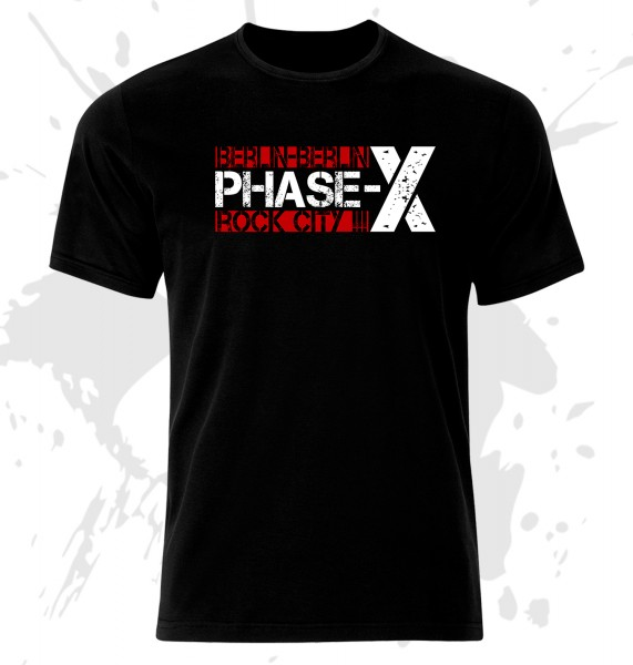 T-Shirt Phase-X Berlin Rock City