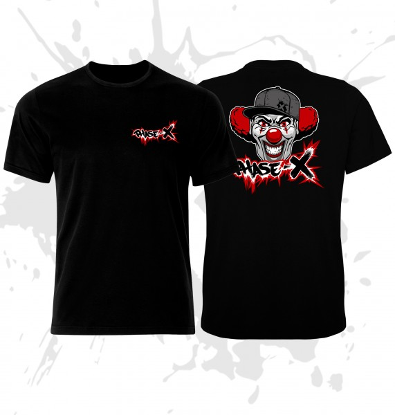 T-Shirt Phase-X Logo Clown